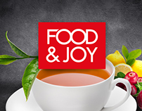 Packaging for Food&Joy tea