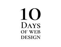10 Days of Web Design challenge
