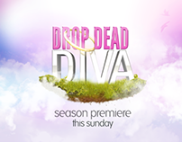 """Drop Dead Diva"" Concept Boards"