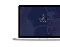 Ladylin Lingerie Landing Page Design