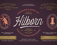 S&S Hilborn Font & Illustration Bundle