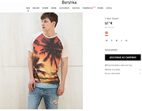 "Bershka ""sunset"" t-shirt / Spring/Summer 16"
