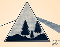 Pink Floyd concept art.