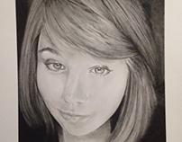 Commission Portrait Progression