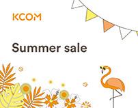 KCOM Summer sale