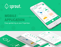 Sprout Mobile App Design
