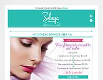 Zelaya: Estética y Salud - Newsletters y Flyers