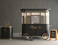 Moule Food Cart