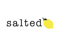 Salted Lemon {Logo Design}
