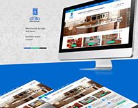 Дизайн сайта для компании d'Elito