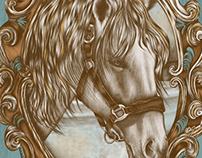 Ornate Horse Portrait