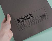 Branding: Museum of Conspiracy