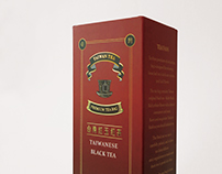 Taiwan Tea Fans ,package design|台灣紅玉紅茶包裝