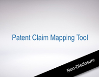 Patent Claim Mapping Tool