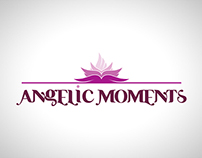 ANGELIC MOMENTS BEAUTY SALON LOGO