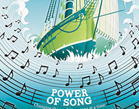 Clearwater's Power of Song Poster