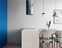 Classic Blue apartament