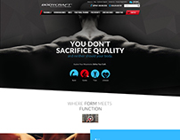Bodycraft Homepage Concept