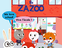 The Zazoo: We love school!