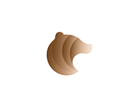 Bear Gradient - Logo Concept