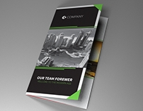 Indesign Template A4 trifold brochure Dubai vol2