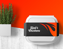 Hell's Chickens - Branding