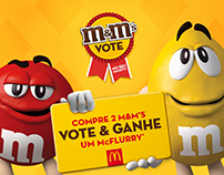 Campanha M&M's Vote