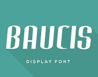Baucis Display Font