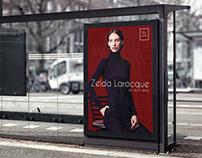 Zelda Larocque | Marca e Cartazes