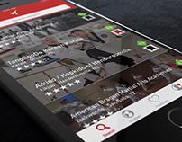 Wǔshù - Mobile App Concept