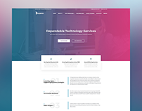 IT company corporate website