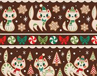 Gingerbread Kitties