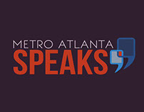 "ATLANTA REGIONAL COMMISSION 2014 ""METRO ATLANTA SPEAKS"""
