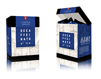 Packaging design for L'Arôme Espresso Decaffeinato