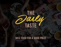 Logo Design: The Daily Taste