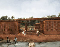 Kaira Looro_Pavilhão da paz, Senegal