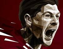 Steven Gerrard illustration