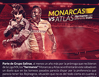 Monarcas vs Atlas
