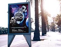 SPACE Flyer Design
