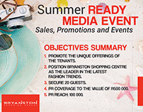 Bryanston Shopping Centre Summer Ready Case Study