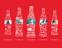 Coca-Cola 'Choose Happiness' digital signage