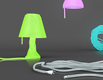 Velcro Lamp