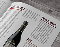 Wines & Spirits Magazine Spread