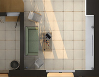 3d house projections