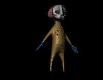 "Character Modelling - ""Masky"""
