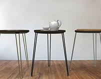 Wired stools h/l