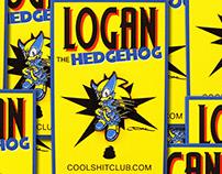Logan the Hedgehog by Cool Shit Club