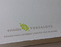 Logo and collateral // Estúdio Versalete