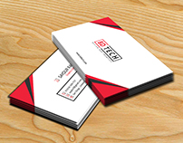 Corporate Business Card Mockup Free