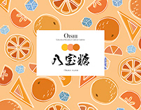 Package design for OISHI